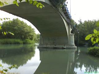 puente río Gállego Zuera