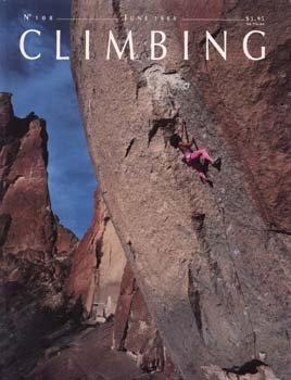 climbing solo