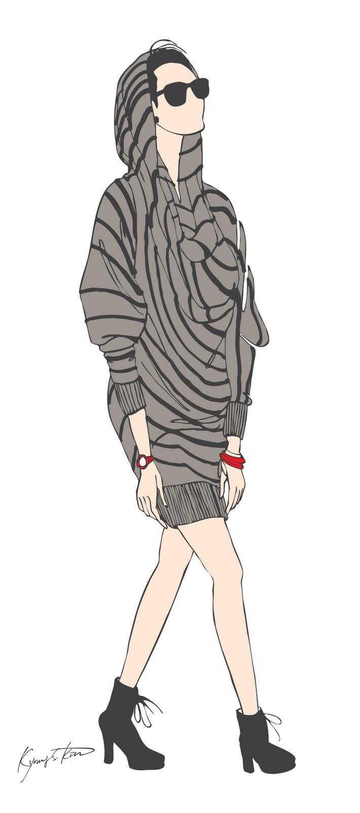 fashion illustration hoodie fashion illustration hoodie davidkim s works