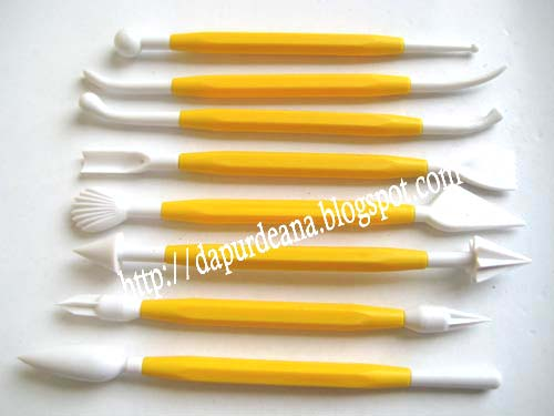 Modelling Tool Set ~ Basic Tools for Fondant (1)