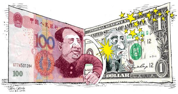 Yuan se prepara para o palco mundial e desafiar  a supremacia do dólar