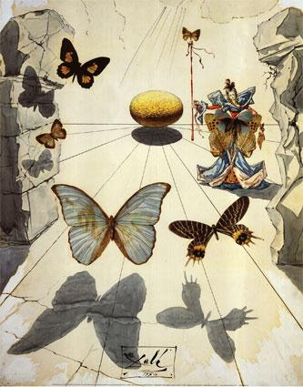 Mariposas-Salvador Dalí.