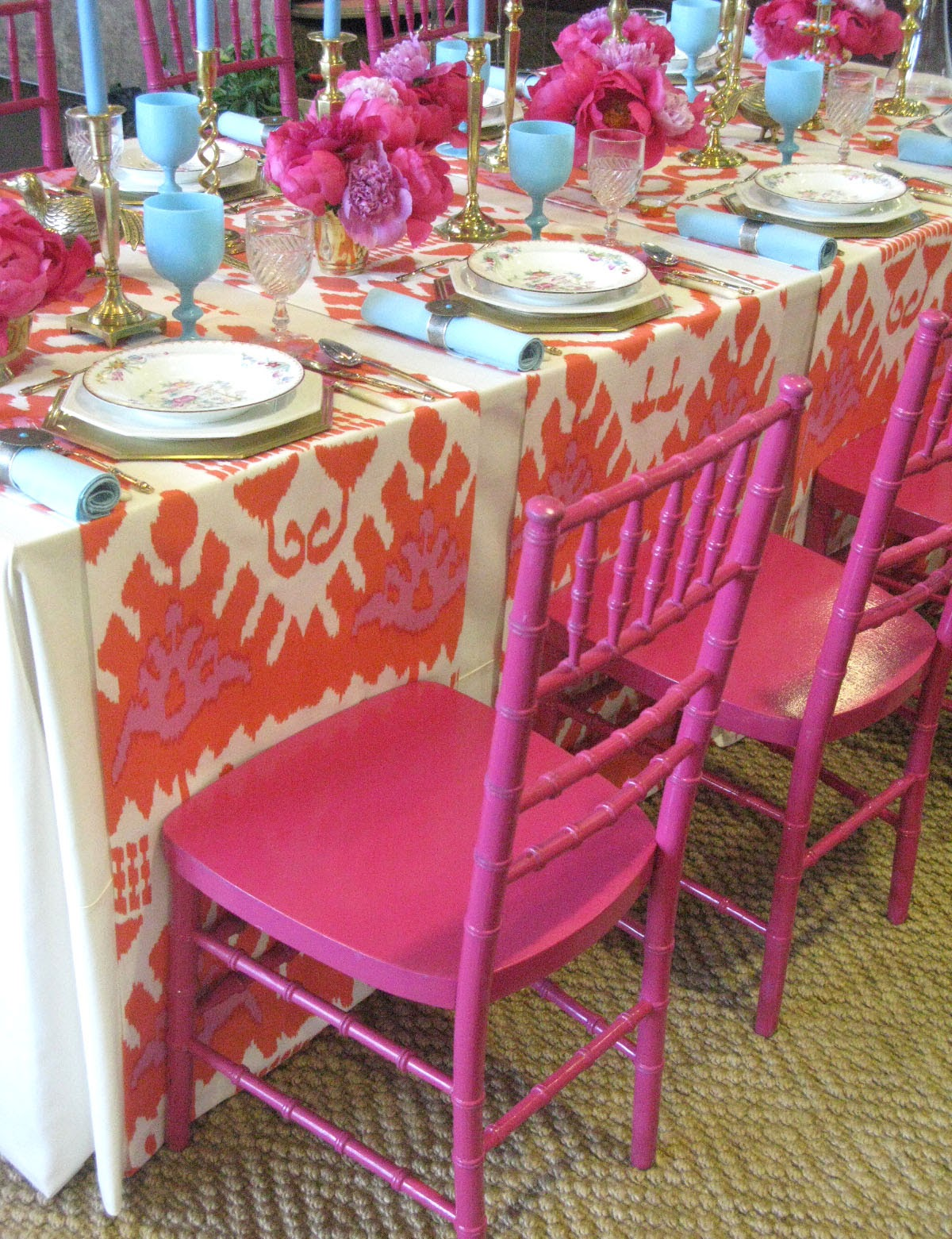 Gypsy Purple Entertaining And Event Find Bohemian Table