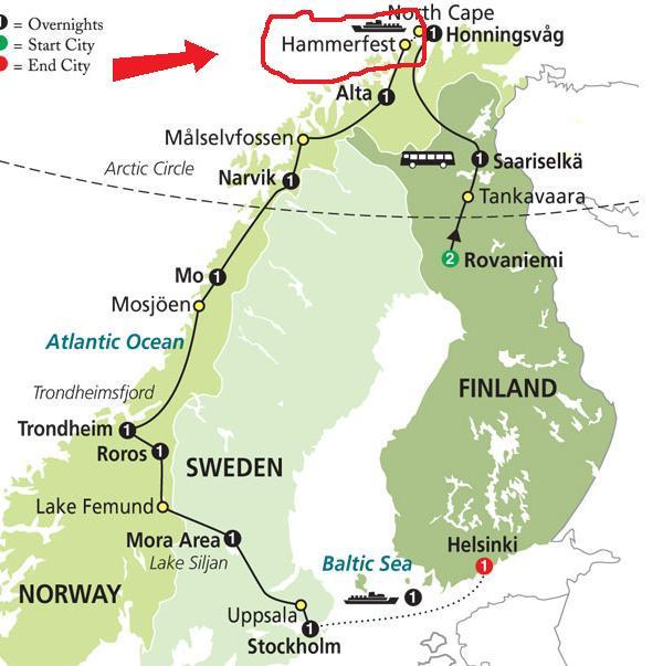 Hammerfest Norway  city pictures gallery : Hammerfest, Norway