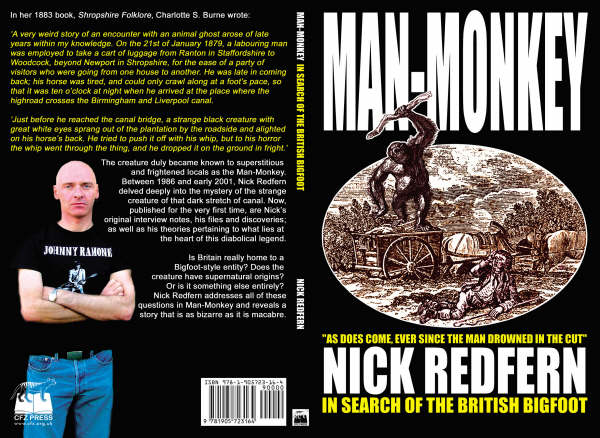 Nick Redfern's Man-Monkey: In Search of the British Bigfoot