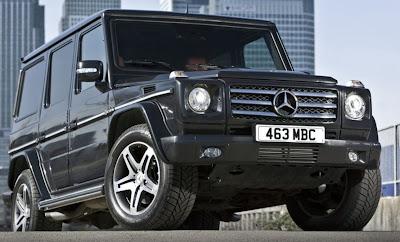 UK Version Mercedes-Benz G-Class