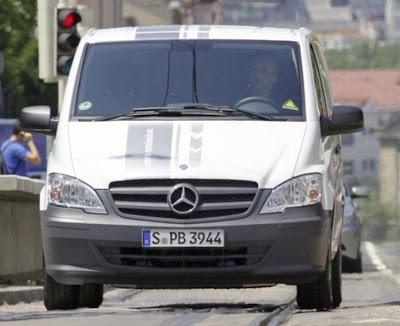 Design 2011 Mercedes-Benz Vito E-Cell