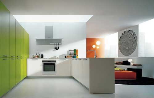 Designer Kitchen Ideas on Design  Contemporary Futuristic Kitchen Designs New Trend 2011