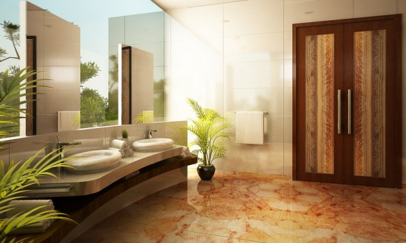 Home Interior and Exterior Design: Bathrooms Design Inspirational