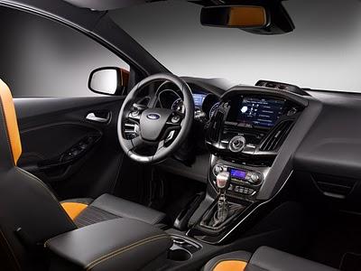 Ford Focus ST Interior Design