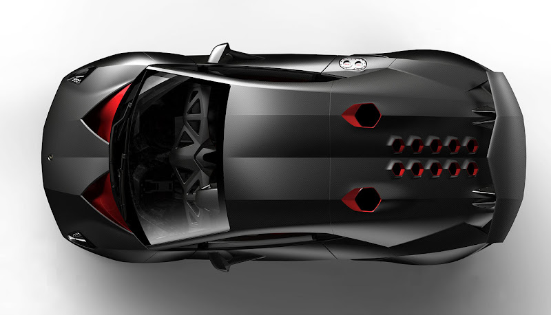 Lamborghini Sesto Elemento Technology