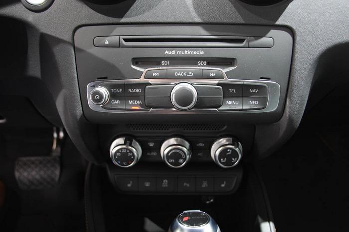 Audi A1 TFSI Dasdboard Design