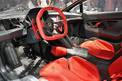 Interior Lamborghini Sesto Elemento