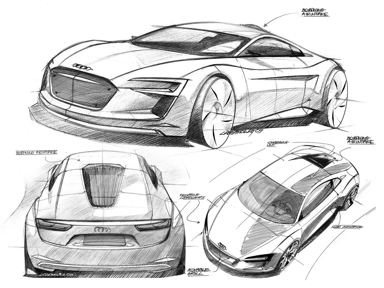 Audi E-Tron Concept Design Detail