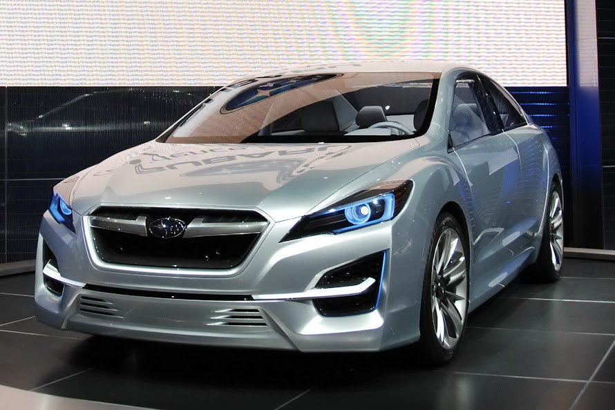 2013 Subaru Impreza NEw Concept Car