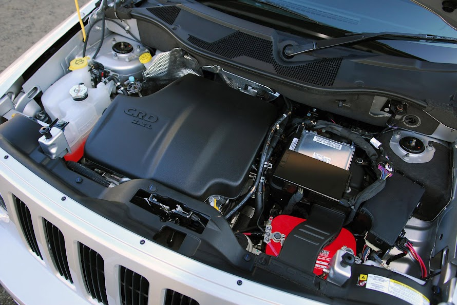Jeep Patriot 2.2 CRD Engine Design