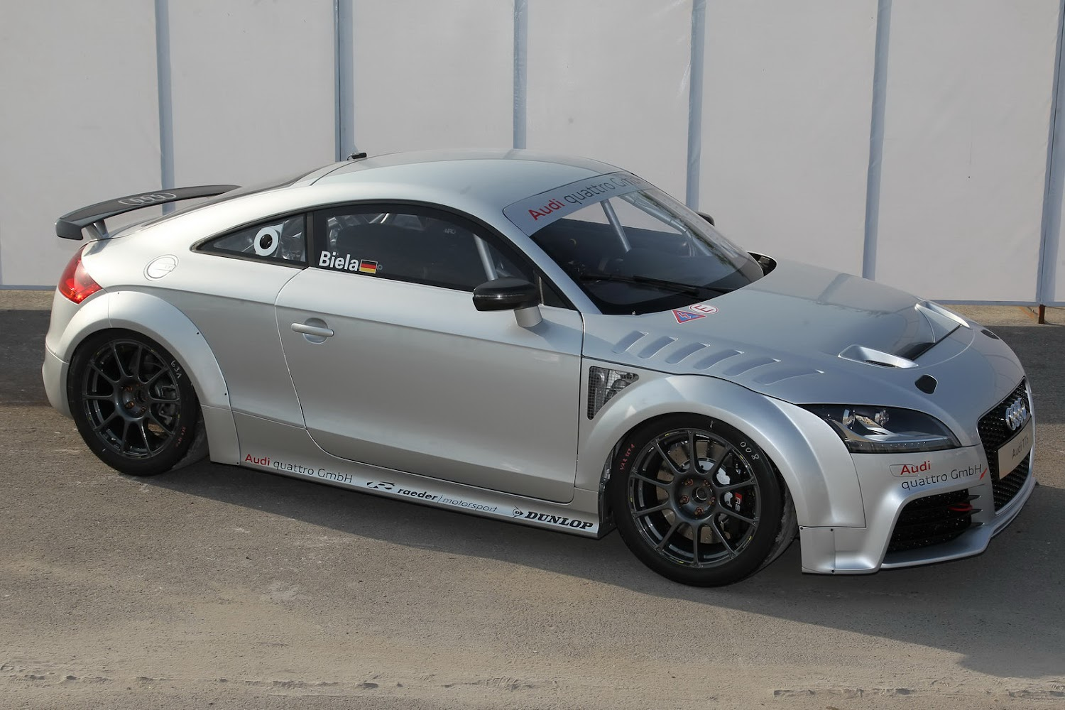 Audi TT GT4 with 340HP Concept