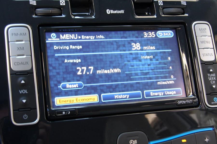 2011 Nissan Leaf Gadget GPS