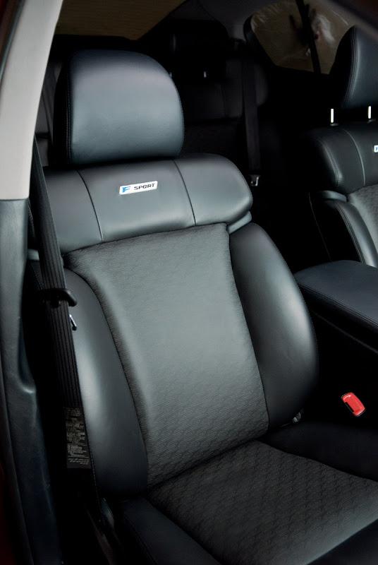 2010 Lexus GS 350 F-Sport Design Seat Specification