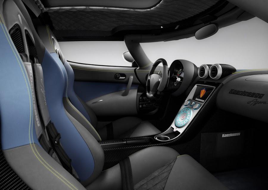 Koenigsegg Agera 2010 Interior Design