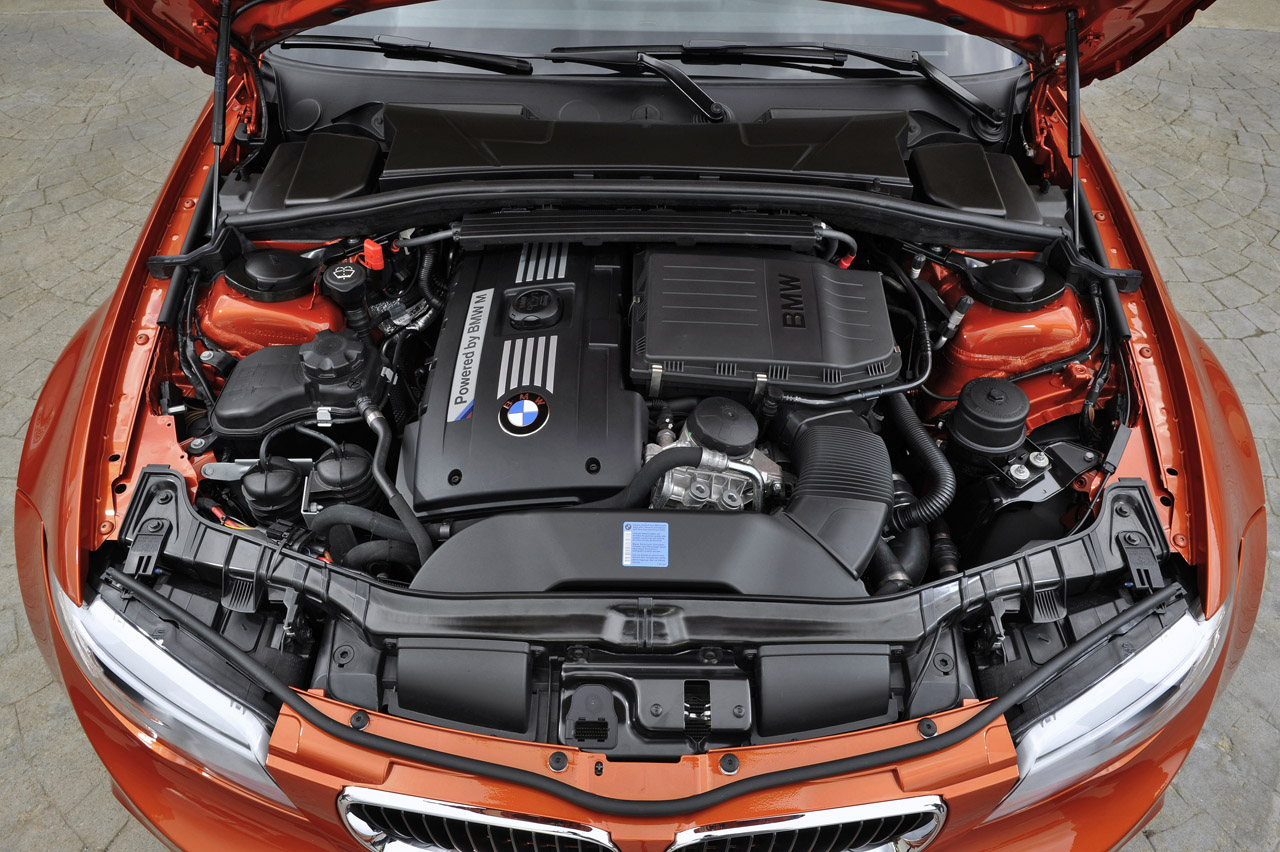 2012 BMW 1 Series M Coupe Engine