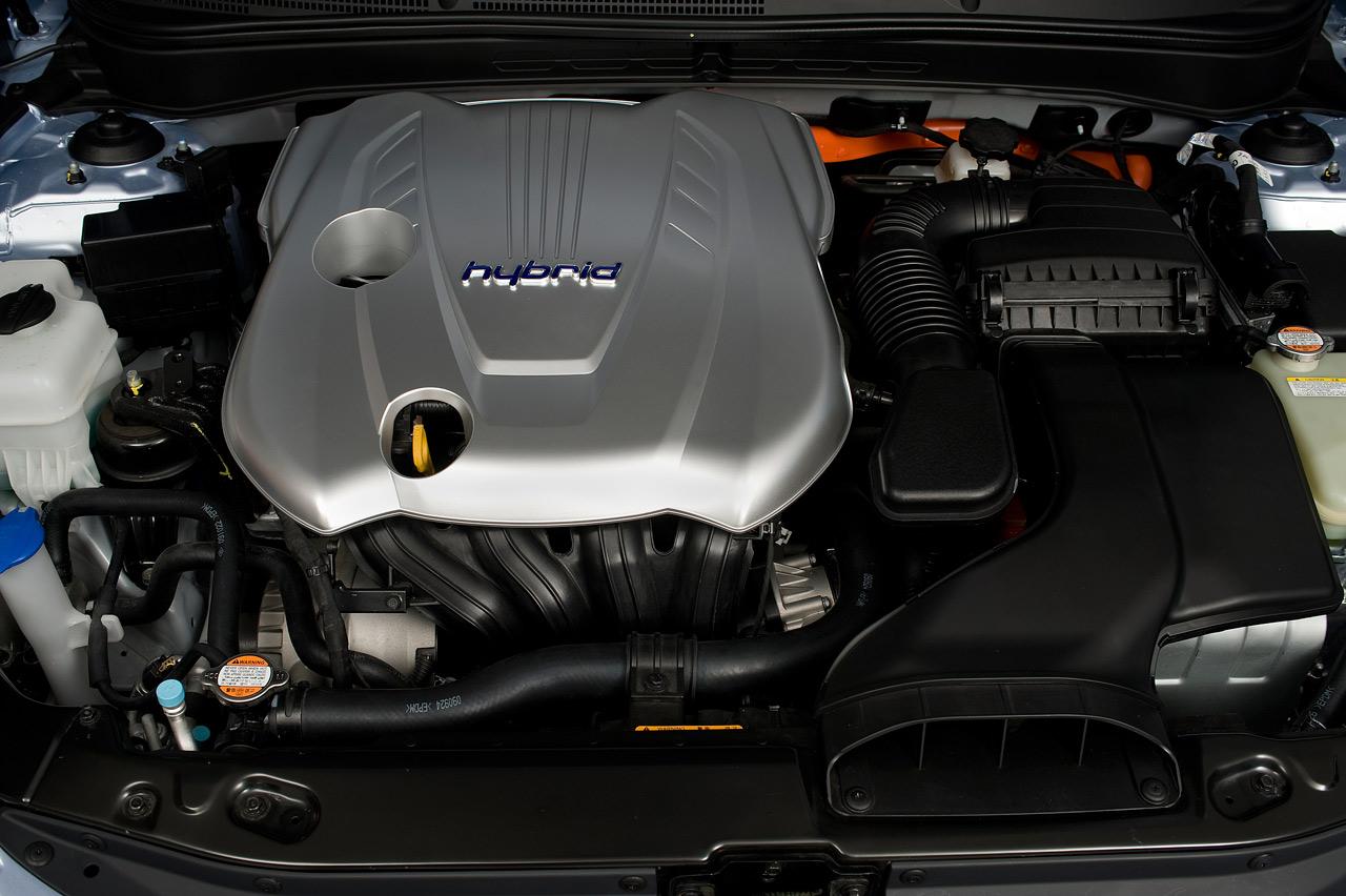 2011 Hyundai Sonata Hybrid Engine