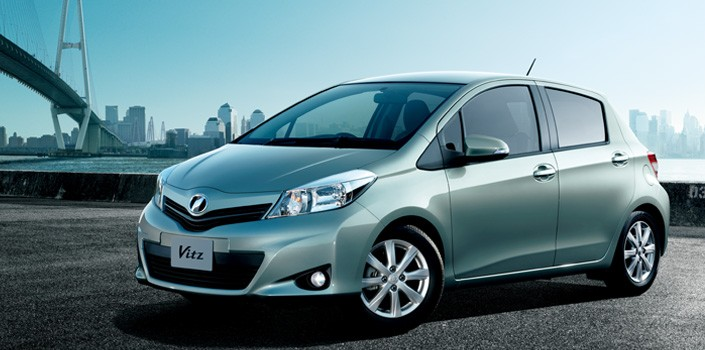 2012 Toyota Vitz HD Wallpaper