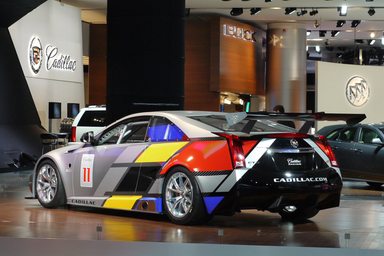 CADILLAC CTS-V SCCA COUPE BACK VIEW