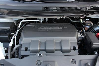 2011 HONDA ODYSSEY ENGINE