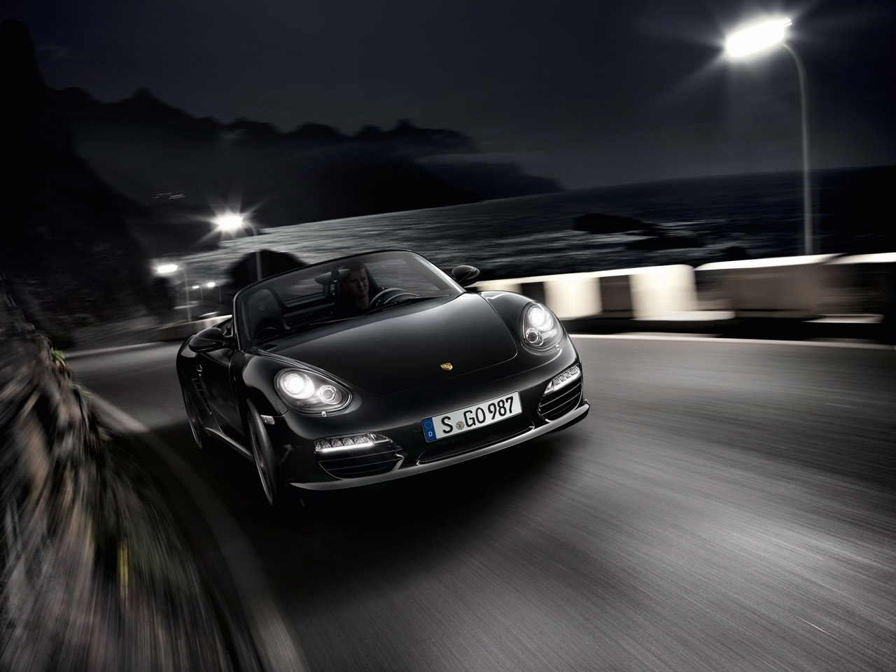 2012 PORSCHE BOXSTER S BLACK EDITION WALLPAPER