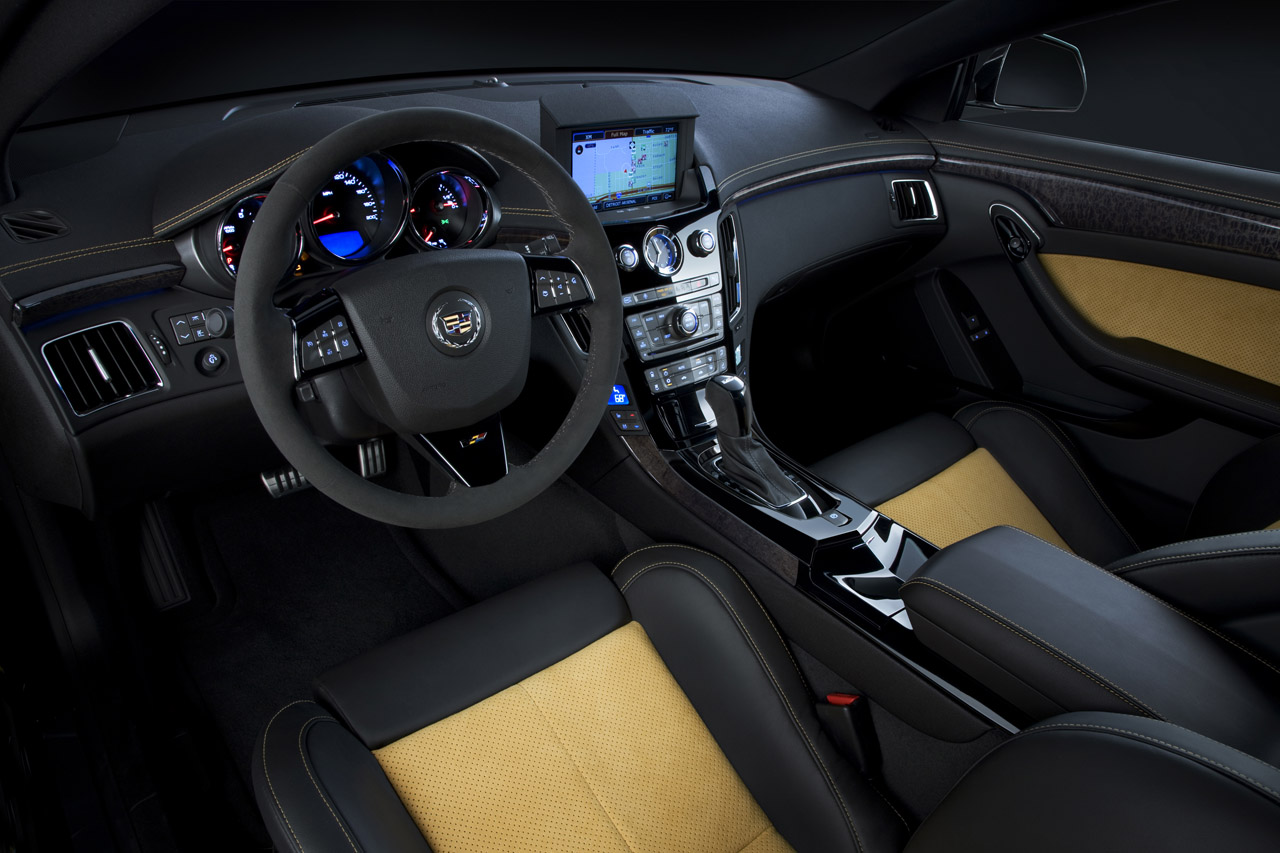 CADILLAC CTS-V BLACK DIAMOND EDITION SEAT DESIGN