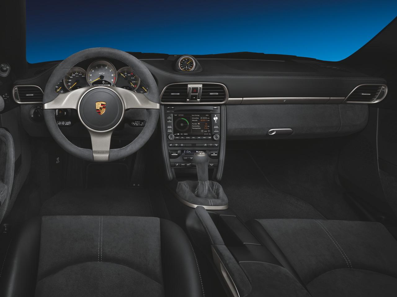 2010 PORSCHE 911 GT3 INTERIOR CONCEPT