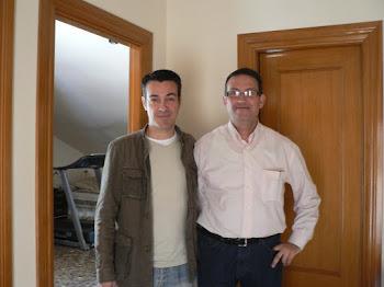"""En casa, con el actor Jaime Pujol """"El comisario"""""""