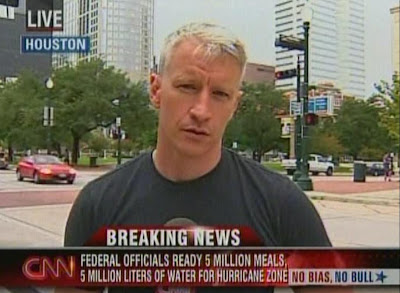 Anderson Cooper CNN AC360 Hurricane IKE September 12, 2008