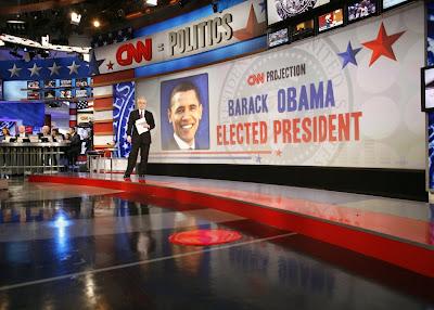 CNN Election Center Wolf Blitzer November 4, 2008 Election Day