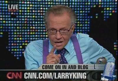 Larry King CNN November 7, 2008