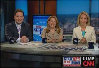 Ed Henry Jessica Yellin Dana Bash CNN State of the Union with John King July 19, 2009