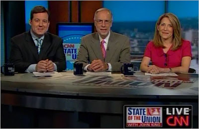 Ed Henry Dan Balz Jessican Yellin CNN State of the Union with John King August 9, 2009