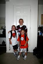 Caden, Jackson, and Jace