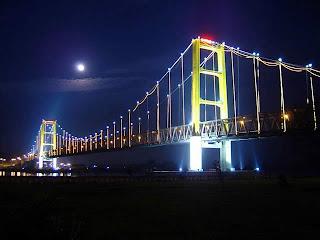 Jembatan Kutai Kertanegara Runtuh