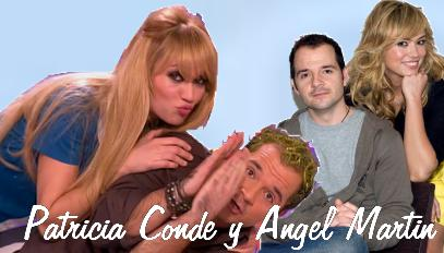 Patricia Conde y Ángel Martín