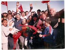 Hinchada de SARMIENTO 2004