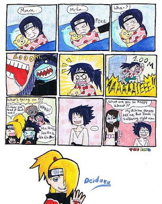 i found some funny naruto comics here they are. Naruto Shippuuden Kisame