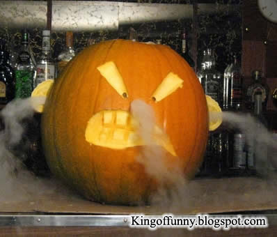 cool scary pumpkin carvings