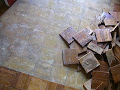 Foyer floor (before)