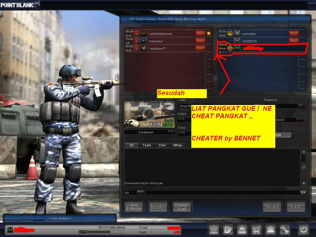 Cheat Pangkat Point Blank 2010