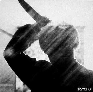 Iconic or memorable movie stills Psycho