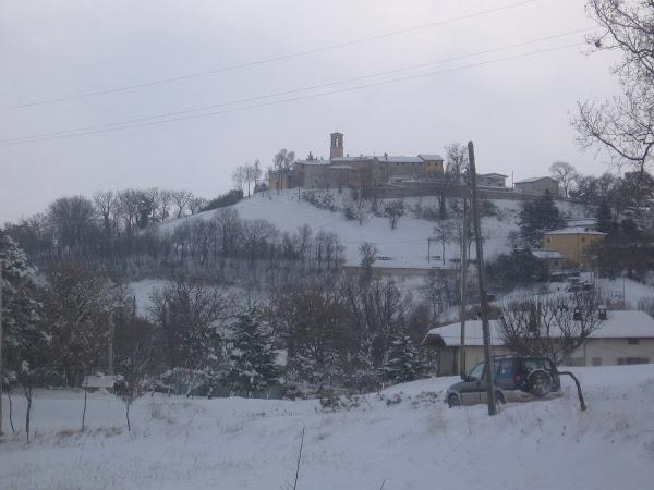 Chiesa di Grello ( innevata )