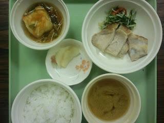 写真: 2日目の夕食