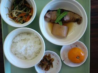 写真: 5日目の昼食